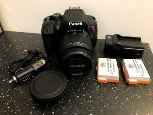 Canon EOS Rebel T5i w/18-55mm Lens
