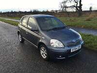 TOYOTA YARIS•23,000 MILES•YEARS MOT•FULL SERVICE HISTORY•1 LADY OWNER•like polo Corsa Clio fiesta c1