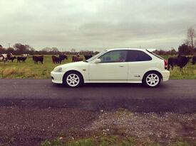 Honda Civic EK9 Type R Championship White DC2 dc5 integra