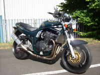 SUZUKI GSF 1200 BANDIT MK1 very good clean condition ART exhaust can stainless rad grill full m.o.tt