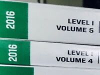 CFA Level 1 Curriculum Volumes 1-6