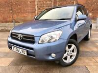 2006 RAV 4 DIESEL / 4X4 / ALLOYS / ELECTRIC WINDOWS / CD / 13 SERVICE STAMPS / FULL MOT .