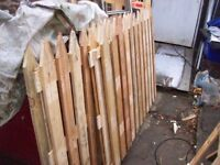 handmade fence panels