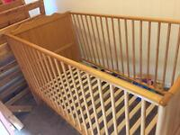 Cot/toddler bed