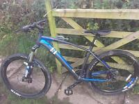 13 incline alpha men's mountain bike as new