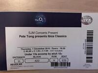 2x Pete Tong Presents Ibiza Classics @ The O2