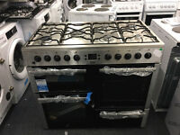 Beko Dual Fuel Range Cooker 100cm Wide **New / Display Item** Delivery Available
