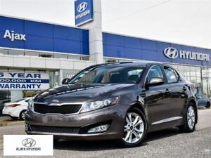 2013 Kia Optima EX Luxury|Leather|Bluetooth|Rear View Camera