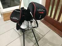Child's golf clubs Slazenger panther cub with bag