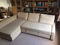 IKEA corner sofa bed in good condition - left or right // free delivery