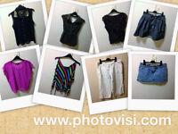 Womens size 10 various clothes bundle - 8 items