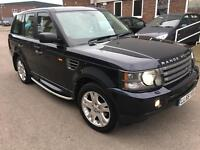 Land Rover Range Rover Sport 2.7 TD V6 HSE 5dr 2006 SUV 84,000 miles Automatic 2720cc Diesel