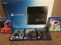Ps4 bundle with 5 games