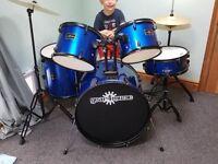 Junior drum kit .