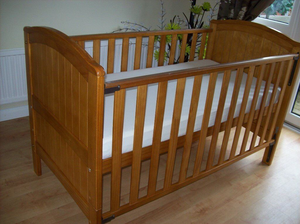 TWINS 2 X BABIES R US HENLEY COTBED TODDLER BED COT