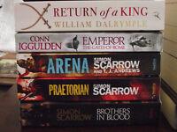 paperbacks - 11 - simon scarrow/ robert fabbri etc.