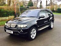 2004 54 BMW X5 4.4i V8 Sport 4X4 Semi-Auto Black **Fully Loaded** **Full Service History**