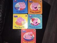 5 Brand new Peppa pig board books
