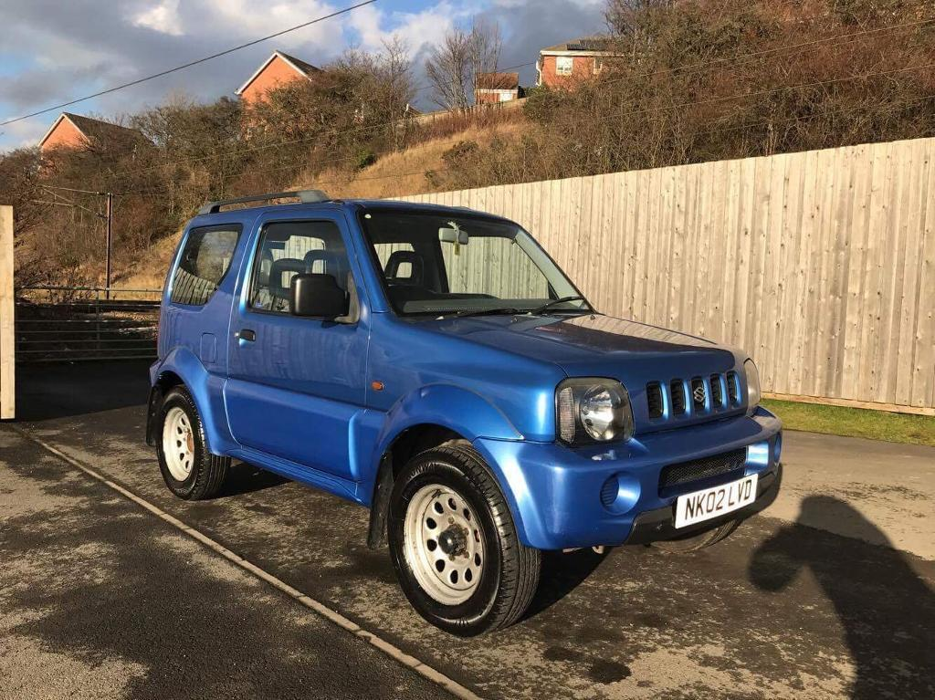 suzuki jimny 1 3 2002 4x4 not vitara pajero shogun in beeston west yorkshire gumtree. Black Bedroom Furniture Sets. Home Design Ideas