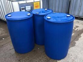 45 gallon plastic drums