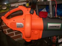 LEAF BLOWER/COLLECTOR.COLLECT NEW MILTON AREA