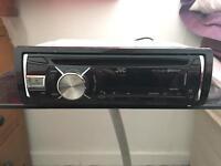 JVC Bluetooth/hands free calling car stereo