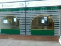 Secure Retail shop unit to rent in shopping centre situated in melton mowbray busy market town