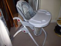 2 X HIGH CHAIRS FOR SALE