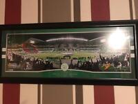 Celtic Fc framed picture