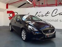 VOLVO V40 1.6D SE LUX EDITION [STUNNING EXAMPLE / FULL SERVICE HISTORY / LEATHER / FANTASTIC SPEC]