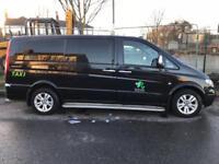 Mercedes Vito 8 seater taxi
