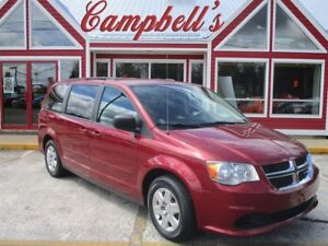 2011 Dodge Grand Caravan SE STOW'N'GO DUAL AIR HEAT REAR AIR AND