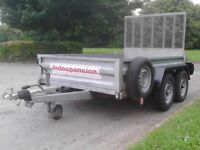 Indespension Trailer not Ifor Williams.