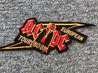 AC/DC sew on badge. 1980 tour