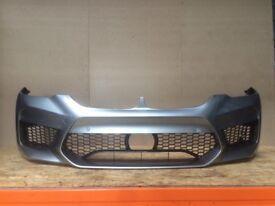 Orginal Front Bumper BMW F90 G30 M5 USA Donington Grey C28
