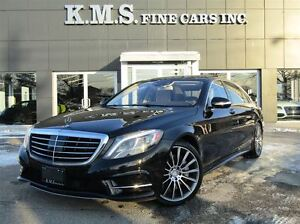 2014 Mercedes-Benz S-Class S550 4 MATIC| LWB| AMG SPORT| CLEAN C