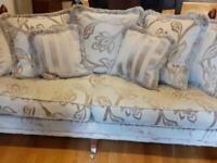 Laura Ashley sofa + amchair