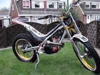 2012 SHERCO ST 300 CABESTANY FACTORY RACING TRIAL BIKE ROAD REGISTERED