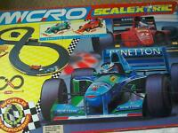 Hornby micro scalextric car race track