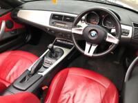 BMW Z4 2.0 SE ROADSTER RED LEATHER 12 MONTHS MOT