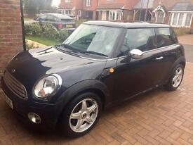 2006 Black Mini Cooper 1.6 Petrol Excellent Condition