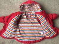 NEXT Girls Warm Coat. 2-3 yrs