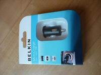Belkin Microcharge + ChargeSync Auto SEALED BRAND NEW
