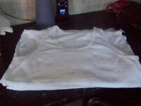 Men's Brand New Marks & Spencer pack of 6 Vests White Size XL 46-48 inch Chest