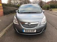 Vauxhall Meriva 1.4i 16v SE MPV 5dr Silver Full Service History