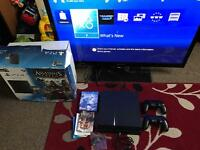 "Ps4 1tb and samsung 43"" 3D tv"