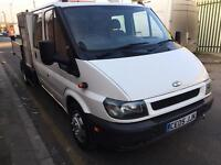 FORD TRANSIT TIPPER CREW CAB 05 PLATE