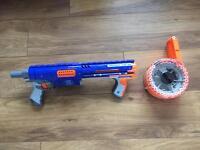 Nerf raider Cs-35 slam fire gun