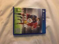 Fifa 16 PS4 game. Never used.