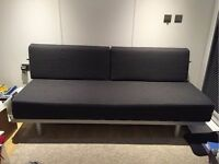 Lovely & Rare❤️ MUJI 3 Seater Sofa Bed. Double Bed. Guest Bed. MUJI Sofabed. Single Bed. Cost £695